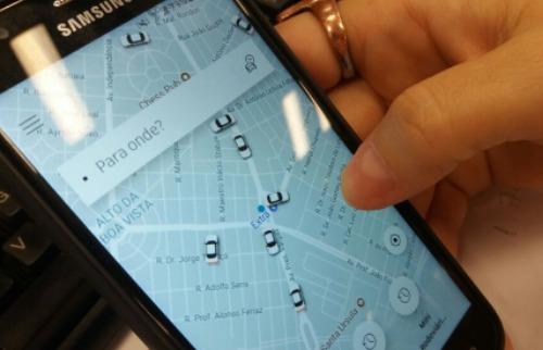 ACidade ON - Araraquara - Se a lei for aprovada, moradores de Araraquara poderão chamar o transporte pelo aplicativo do celular (Claudio Dias/ACidadeON)