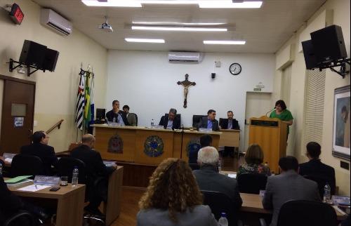 Secretária da Saúde esteve presente na sessão ordinária desta terça-feira (5). - Foto: ACidade ON - Araraquara