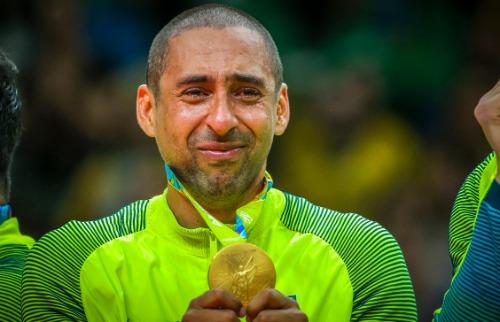 O líbero Serginho é bicampeão Olímpico pela Seleção Brasileira (FotoDanilo Borges/Brasil2016) - Foto: reprodução