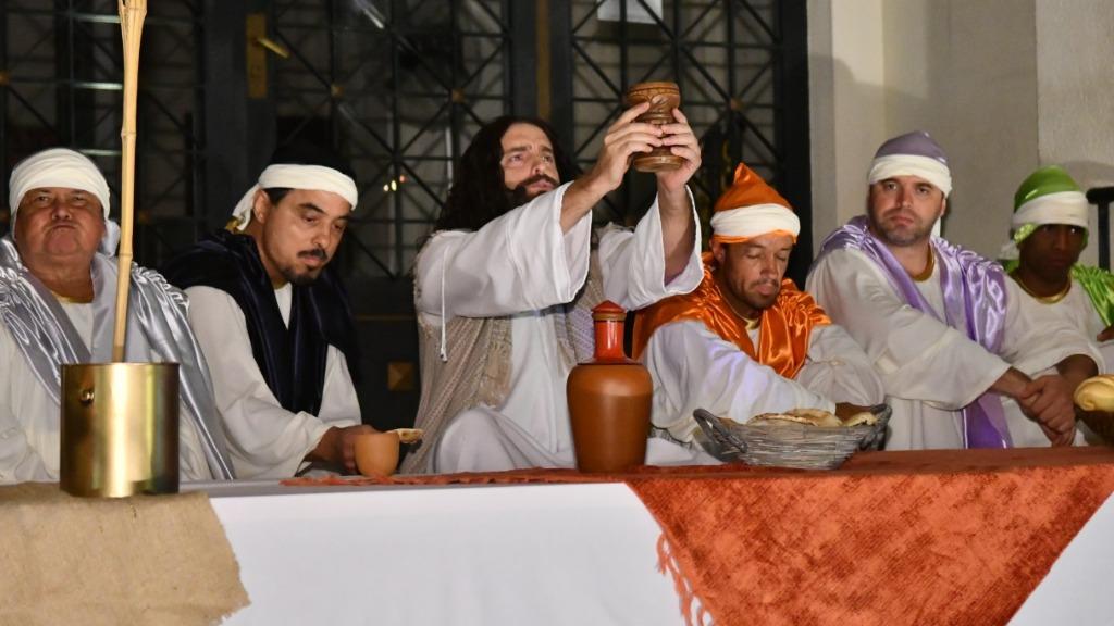 Encenação da Paixão de Cristo em Serra Negra (Foto: Divulgação/Assessoria de Imprensa de Serra Negra) - Foto: Divulgação