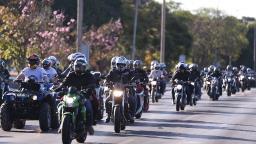 Serra Negra anuncia bolsões para estacionamento de motos