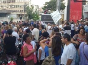 Servidores municipais decidiram entrar em greve após prefeito Duarte Nogueira (PSDB) não ter apresentado contraproposta para reajuste de salário - Foto: WhatsApp / A Cidade