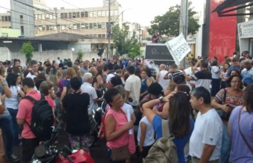 WhatsApp / A Cidade - Servidores municipais decidiram entrar em greve após prefeito Duarte Nogueira (PSDB) não ter apresentado contraproposta para reajuste de salário