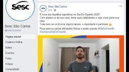 Sesc São Carlos estimula prática de atividades no Dia do Desafio