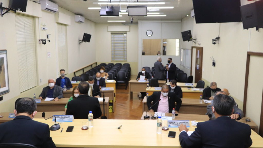Sessão da Câmara aconteceu, nesta terça-feira (12) em Araraquara (Foto: Divulgação/Câmara) - Foto: Divulgação