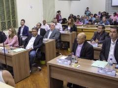 Sessão da Câmara de Araraquara (Amanda Rocha) - Foto: Amanda Rocha
