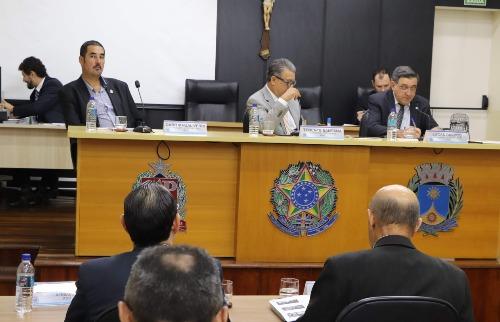 Sessão Extraordinária da Câmara aprovou LDO 2020. (Foto: Divulgação/Câmara) - Foto: Divulgação/Câmara