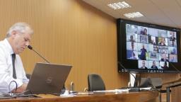 Em sessão remota, Câmara aprova audiência pública virtual