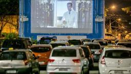 Pedreira do Chapadão vai receber cinema drive-in gratuito