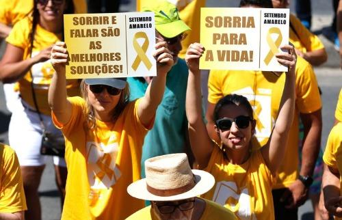 """""""Setembro Amarelo"""" é a campanha de prevenção do suicídio - Foto: Agência Brasil"""