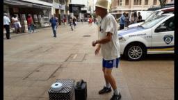 Morre Seu Dorivaldo, o dançarino do Calçadão de Ribeirão