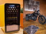 Shopping vai dar 10 cervejeiras cheias e uma moto Harley Davidson