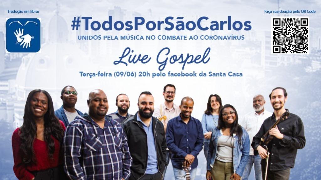 Com o show virtual, a ideia é arrecadar recursos para compra de EPIs para o hospital. Foto: Assessoria/ Santa Casa - Foto: Divulgação