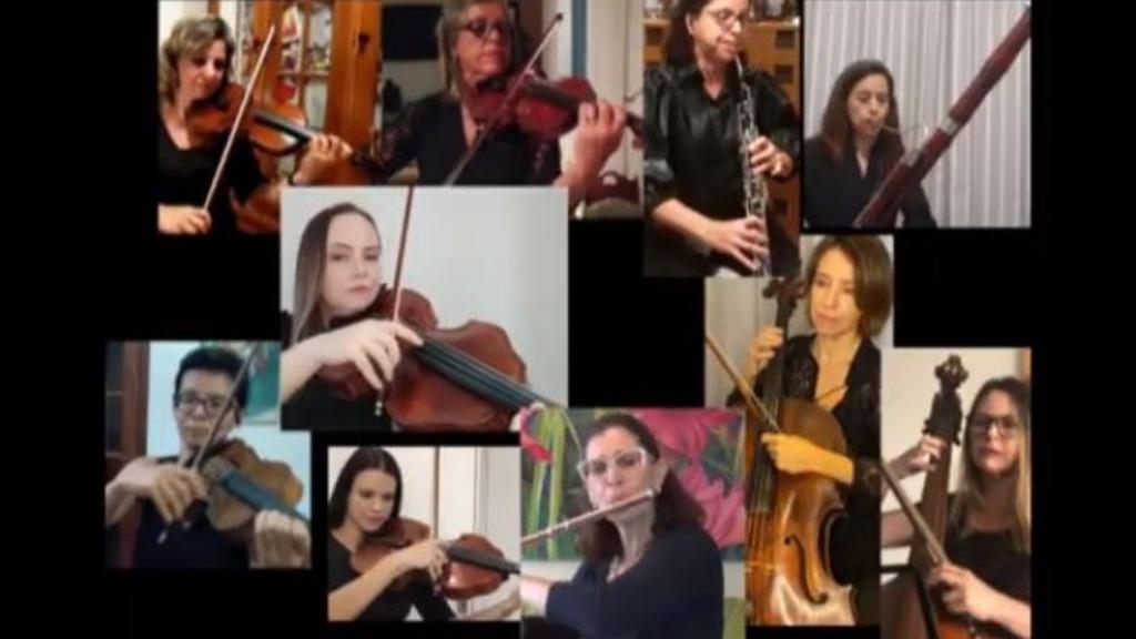 Sinfônica faz homenagem ao Dia das Mães (Foto: Reprodução/PMC) - Foto: Reprodução/PMC