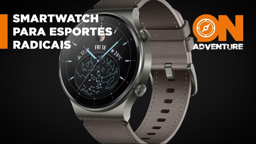 Huawei lança smartwatch que monitora oxigênio no sangue e novos esportes. - Foto: Divulgação