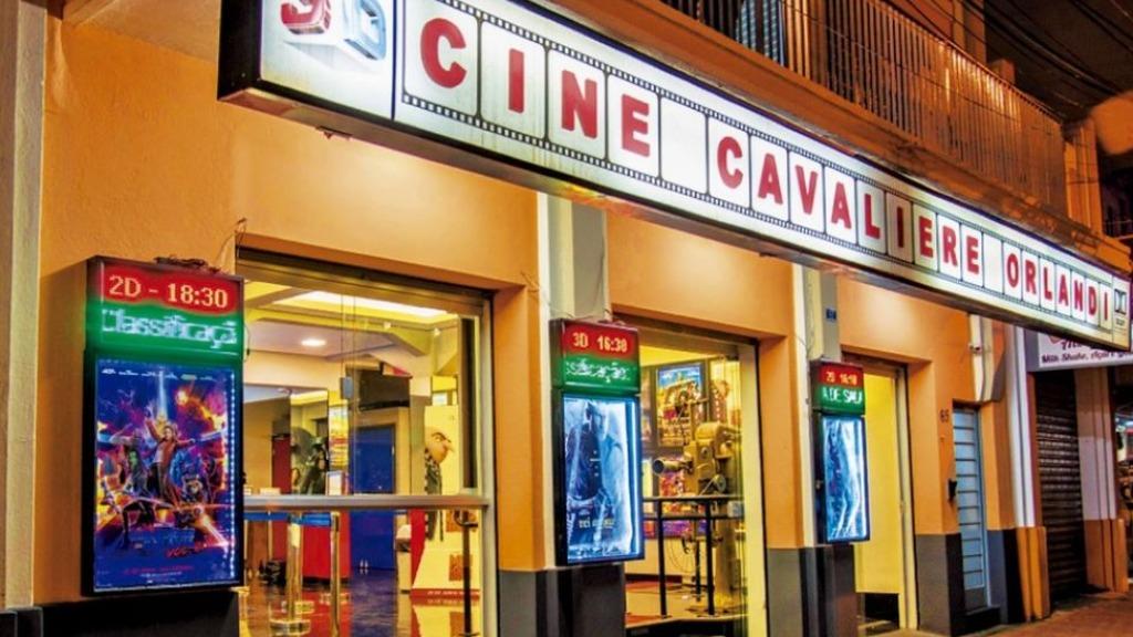Cine Cavaliere Orlandi em Socorro (Foto:Divulgação) - Foto: Divulgação