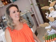 Sofia Angerami, da chocolateria  Le Sofiah; veja mais fotos na galeria - Foto: Murilo Corte / ME