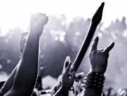 Onze bandas se apresentam no X Festival Rock na Estação