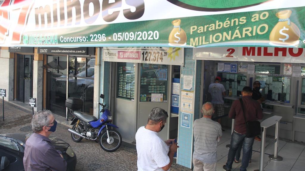 Sorteio acontece às 20h, e apostas podem ser feitas até às 19h (Foto: Luciano Claudino/Código19) - Foto: Foto: Luciano Claudino/Código19