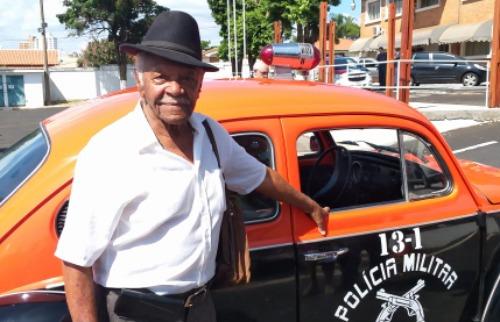 Subtenente Antônio Gabriel Felix, de 90, é um dos mais antigos policiais da reserva em Araraquara - Foto: ACidade ON - Araraquara