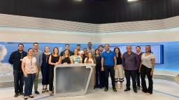 Superfãs do ACidadeON Campinas visitam EPTV