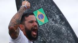 Italo Ferreira conquista primeiro ouro para o Brasil nas Olimpíadas de Tóquio