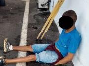 Homem é preso após se masturbar dentro de ônibus
