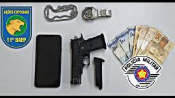 Suspeitos são detidos após roubarem e agredirem moradores