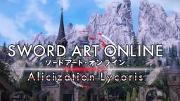 Divulgado novo trailer de Sword Art Online Alicization Lycoris