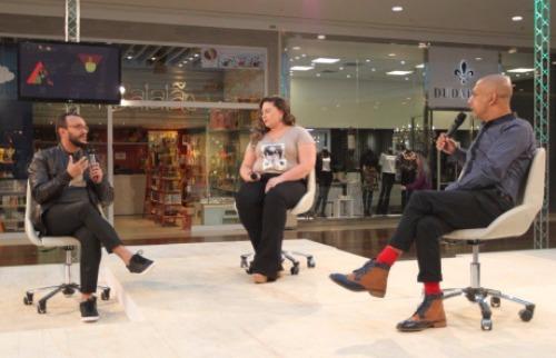 Weber Sian / A Cidade - Último Talk Fashion, realizado nesta sexta-feira (18), abordou o universo plus size e da maquiagem