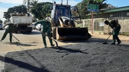 Saiba quais ruas vão receber serviço de tapa-buraco em Ibaté