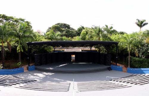 Divulgação - Teatro de Arena é um dos locais que deve abrigar espetáculos em Araraquara (Divulgação/Prefeitura)