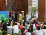 Projeto Teatro e Magias Musicadas, realizado todos os sábados no Shopping Santa Úrsula; veja mais fotos na galeria (foto: Murilo Corte / ME) - Foto: Murilo Corte / ME
