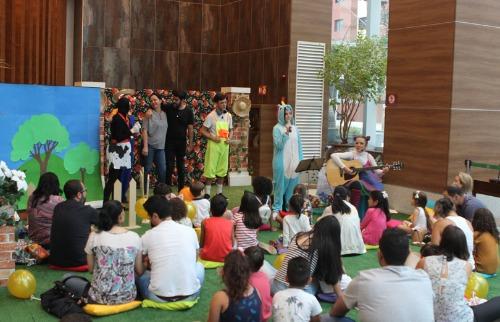 Murilo Corte / ME - Projeto Teatro e Magias Musicadas, realizado todos os sábados no Shopping Santa Úrsula; veja mais fotos na galeria (foto: Murilo Corte / ME)