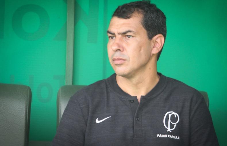 Técnico do Corinthians Fábio Carille. Foto: Luciano Claudino/Código 19