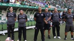Sérgio Soares valoriza empate com o Palmeiras e vê evolução