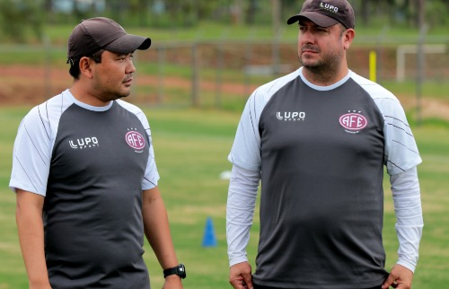 Técnico Vinicius Munhoz (Foto: Thiago Carvalho/AFE) - Foto: Thiago Carvalho/AFE