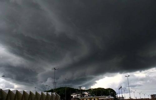 Tempo de chuva em Araraquara - Foto: Da reportagem