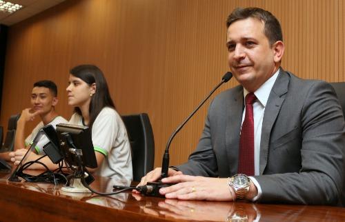 Tenente Santini (PSD) negou que sua fala tenha sido uma ameaça (Foto: Divulgação/Câmara) - Foto: (Foto: Divulgação/Câmara)
