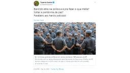 Vereador parabeniza PM pela morte de 584 pessoas em 2019