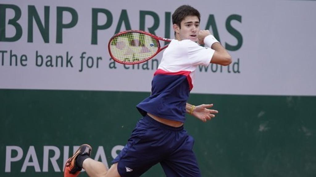 Gustavo Heide foi superado por tenista italiano nesta sexta (7) (Foto: Divulgação / Rede social) - Foto: Divulgação / Redes Sociais