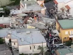Terremoto atinge o Sul da Itália. Foto: Agência LusaAgência Lusa - Foto: Foto: Agência LusaAgência Lusa