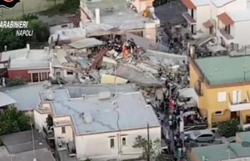 Foto: Agência LusaAgência Lusa - Terremoto atinge o Sul da Itália. Foto: Agência LusaAgência Lusa