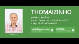 Thomaizinho desiste de candidatura à prefeitura de Ibaté