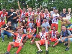 Time foi campeão no domingo (Divulgação) - Foto: Da reportagem