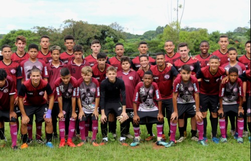 Thiago Carvalho/AFE - Time sub-20 da AFE (Thiago Carvalho)