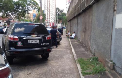 Divulgação/GM - Torcedores detidos pela GM. Foto: Divulgação/GM