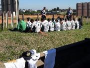 Palmeirenses são presos após roubarem torcedores do Santos