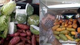 Torcida doa mais de 1,5 tonelada de alimentos a comunidades