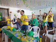 Vitória do Brasil salva o humor e a macarronada de Natália